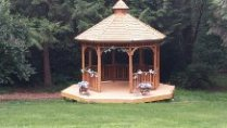Wedding Gazebo at CedarWood Meadows